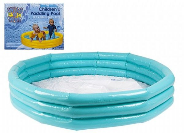 Wild N Wet Blue Swimming Paddling Pool 121cm x 30cm